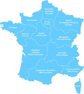 carte de france des administrateurs